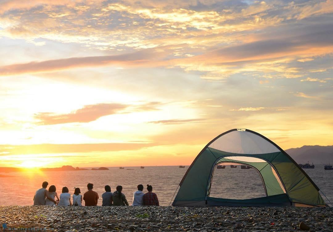 Tour Cắm Trại Đêm Tại Bãi Biển Nhơn Lý.